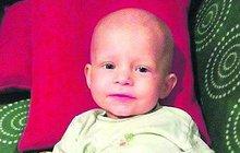Abinka (2) s rakovinou: Měla mít dvojče, z vajíčka vyrostl NÁDOR!