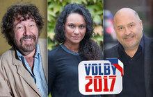 HUSTÁ ANKETA: Celebrity o výsledku voleb