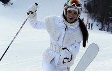 Verešová se zranila na lyžích: Nemůžu chodit, cítím bezmoc!