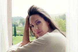 Angelina Jolie poprvé o životě bez Brada Pitta: Lepší je brečet ve sprše