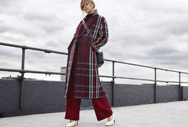 Podzim v novém kabátu: Letošním trendům vévodí rovný střih v různých barvách i se vzory!