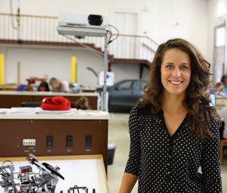 Dita Přikrylová pomohla holkám do světa IT