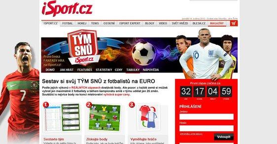 Portál iSport.cz připravil pro čtenáře Fantasy hru pro EURO 2012