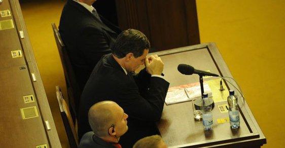David Rath před poslanci