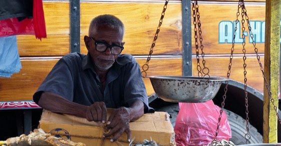 Toulky po Srí Lance: klid a hluk Kolomba