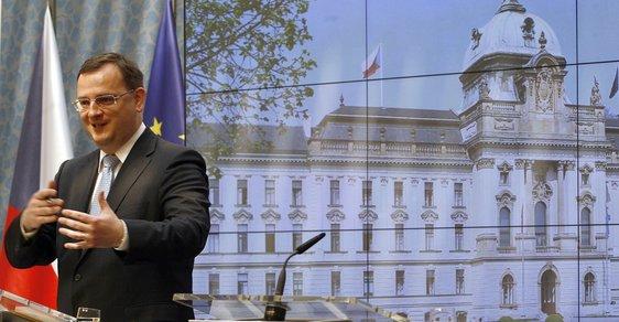 Petr Nečas odvolal ministra spravedlnosti Jiřího Pospíšila