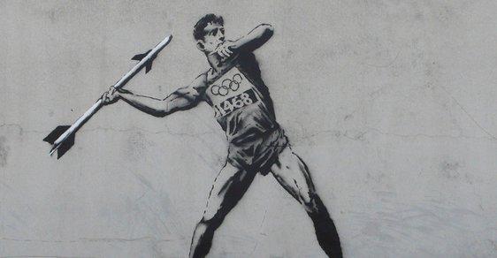 Předolympijský Londýn vede válku se sprejery. Zmizí i nové výtvory Banksyho?