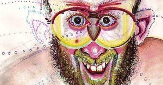 Umělec pod vlivem různých drog namaloval desítky autoportrétů. Je to jen návrat do dětství
