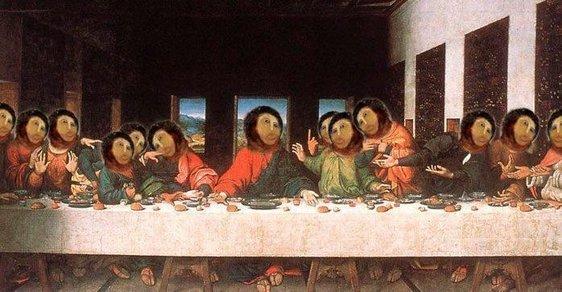Chudák Ježíš. Nejhorší restaurace obrazu všech dob ovládla internet