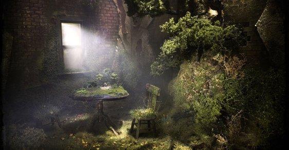 Jak by vypadaly naše obýváky po apokalypse? Mechově a špinavě