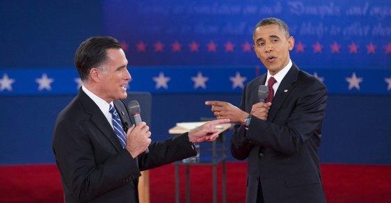 Romney a Obama