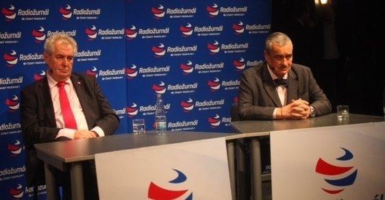 Unaveni z debat: v prezidentském duelu Českého rozhlasu došlo i na homosexuály