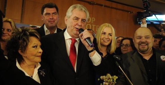 """Miloš Zeman míří na Hrad a s ním prý """"přijde zákon"""". Češi si zvolili hlavu státu"""