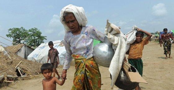 muslimové v barmě