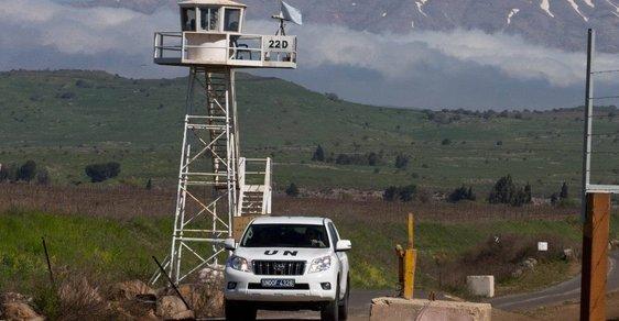 Golany OSN UNDOF Izrael Sýrie