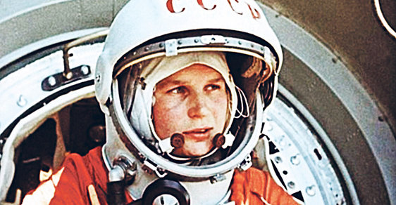 Stále vitální první žena ve vesmíru Těreškovová slaví osmdesátiny. Podívejte se, jak vypadá dnes