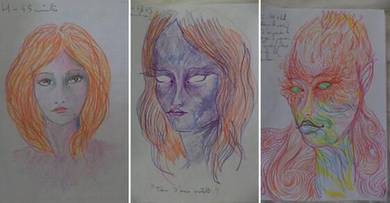 Autoportréty po požití LSD