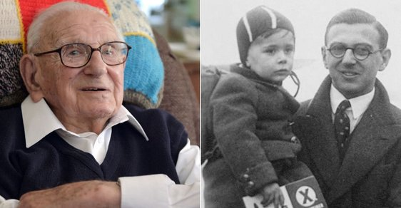 Zemřel sir Nicholas Winton, muž, který zachránil stovky židovských dětí