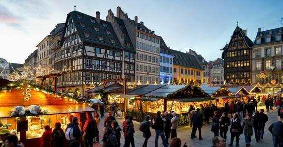 Vánoční trhy ve Štrasburku