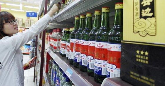 """Čínští výrobci """"obohacovali"""" alkohol viagrou"""