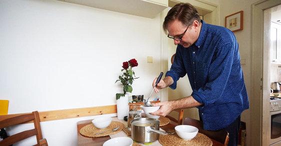 Michal Kořán vaří