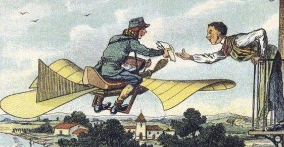 Jak si lidé v roce 1900 představovali rok 2000? Podívejte se na fascinující malby