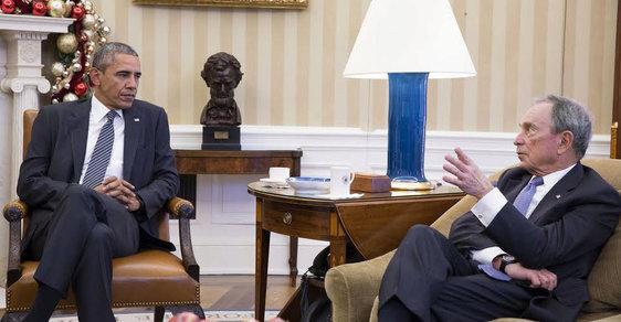 Michael Bloomberg u Baracka Obamy