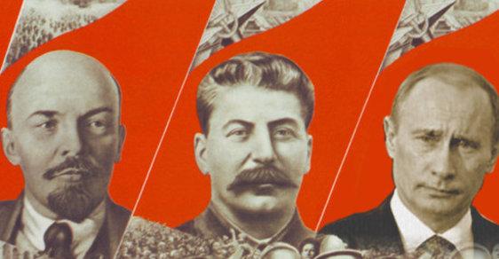 Putin spílal Leninovi: položil pod Rusko atomovku. A ovládání mysli řešil špatně