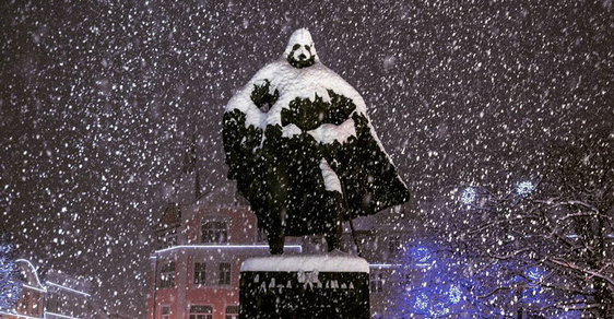 Sochu Darth Vadera najdete v Polsku i v Praze, stačí se dobře dívat