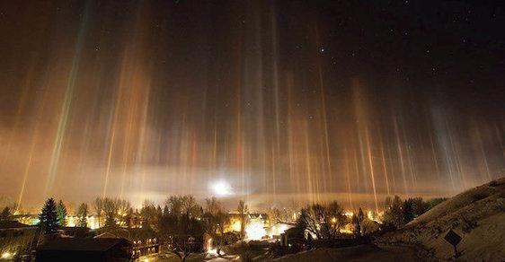 Mrazivé UFO v ulicích. Příroda mate ufology