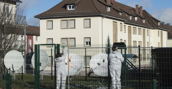 Vyšetřování útoku z konce ledna. Villingen-Schwenningen, Bádensko-Württembersko.