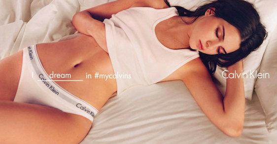 Tělo Justina Biebera nebo Kendall Jennerové ve službách spodního prádla Calvin Klein