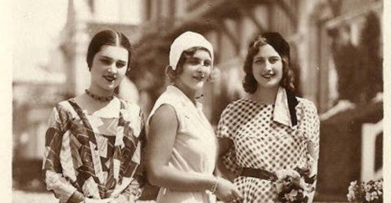Jak vypadala Miss Europe v roce 1930. Zúčastnila se i krásná Češka