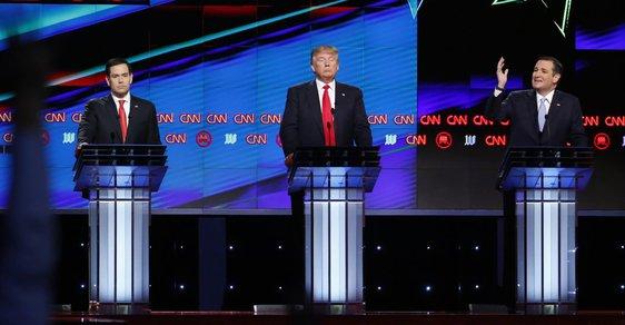 Trump si začal hrát na republikánského sjednotitele, nastal nezvyklý klid