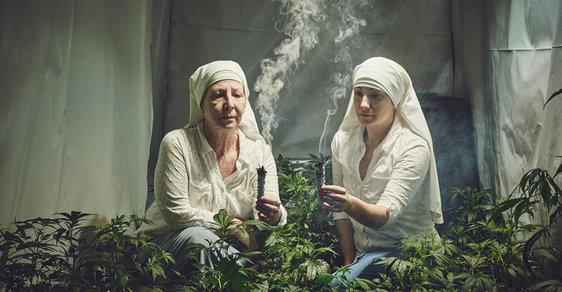 Jeptišky pěstují ilegálně marihuanu, aby uzdravily svět