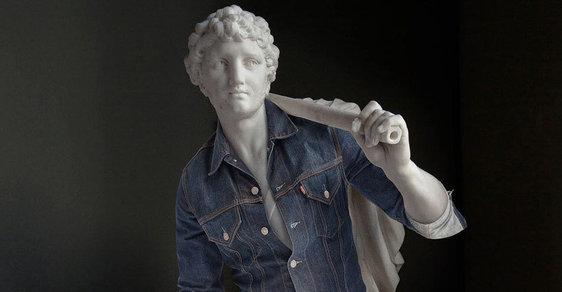 Na hipstera! Francouzský umělec převlékl antické sochy