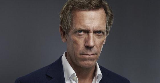 Hugh Laurie hrál titulní roli v seriálu Dr. House