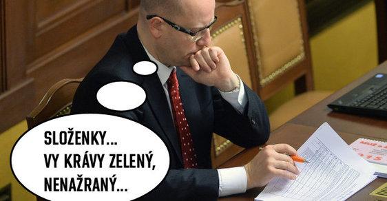 Bohuslav Sobotka má problém