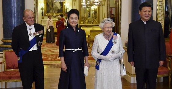 Čínská návštěva Londýna.