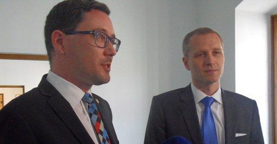 Jiří Ovčáček a Petr Bystroň.
