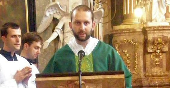 Otec Oldřich Choholáč.