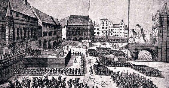 """Před 395 lety Habsburkové popravili 27 """"českých pánů"""". Původně jich mělo být 30"""