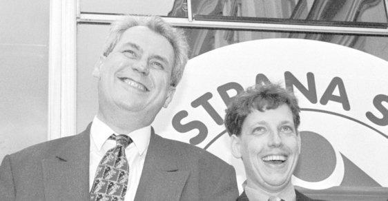Miloš Zeman si svého času na vnitro dotáhl Stanislava Grosse.