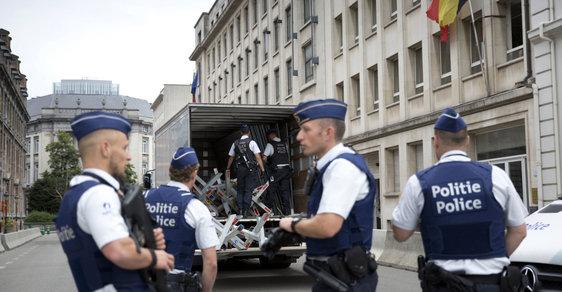 Belgická policie. Ilustrační fotografie