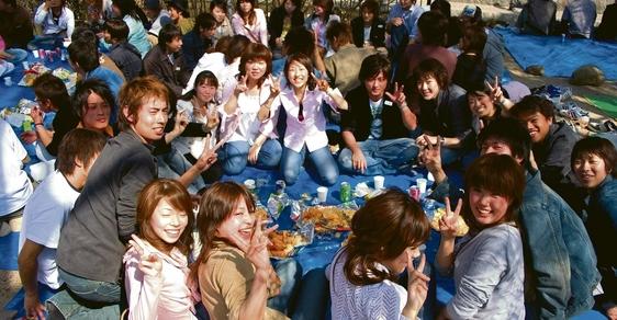 I na párty se Japonci ptejí svých společníků, jakou  mají krevní skupinu, aby věděli s kým se baví