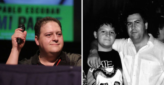 Seriál Narcos život mého otce překroutil a udělal z něj senzaci, říká syn drogového bosse Pabla Escobara