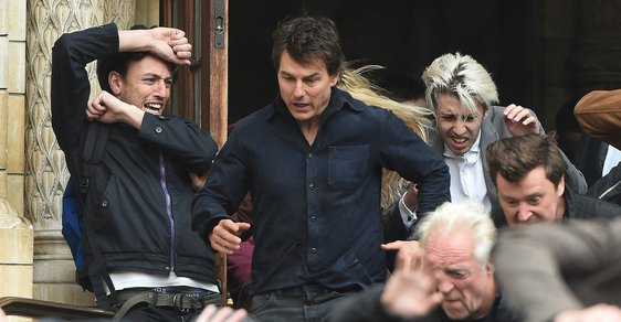 """Run, Tom Cruise, run!"""