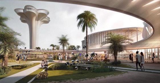 Superhvězdy moderní architektury navrhly pro Káhiru futuristickou knihovnu. Podívejte se