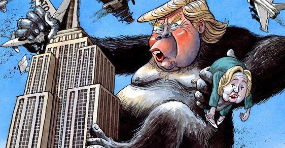 Týdenní dekomprese: Hra o Trumpy a ochrnutý opičák