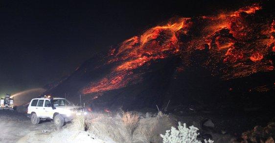 Města duchů a zákaz vstupu: Podívejte se na hořící doly, které jsou v plamenech už desítky let